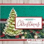 CARD: Merry Christmas card from the Warm Hearted Stamp Set