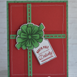 """CARD: North Pole Delivery """"present"""" card from the Bring on the Presents Bundle"""