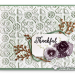 CARD: Thankful Card from the First Frost Bundle – Part 4 of 4