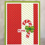 CARD: Ho Ho Ho Be Jolly from the Candy Cane Season Stamp Set
