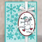 CARD: Winter Cheer from the Spirited Snowman Stamp Set
