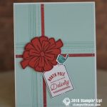 CARD: North Pole Delivery Present Holiday Card Stamps