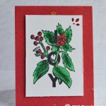 CARD: Stampin Blends Joy Card from the Joy and Noel Stamp Set
