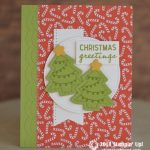 CARD: Christmas Cookies Card from the Nothing Sweeter Stamps