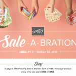 Sale-a-Bration 2019 – Learn how to get these free limited edition products – Jan 2 – March 31