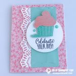 CARD: Celebrate Your Day from the Hello Cupcake Stamp Set from Sale-a-bration
