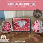"VIDEO: Heartfelt ""Faux"" Engraved Metal Technique Class and Heart Tin Set"