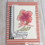CARD: Humming Along from the Amazing Birthday Stamp Set