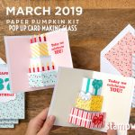 """VIDEO: March Paper Pumpkin Kit """"Poppin' Birthday"""" Kit Reveal & Giveaway"""
