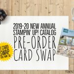 SWAP: Stampin Up New Catalog Full Card Swap – Due May 30