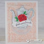 CARD: Glad we're friends from the Tea Together Stamps