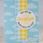 CARD: You are my sunshine when skies are gray