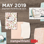 """VIDEO: May Paper Pumpkin Kit """"The Shelli Kit"""" Reveal & Giveaway"""