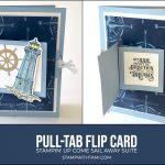 CARD: Sail Away Interactive Pull-Tab Flip Card