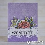 CARD: You are Simply Wonderful from the Bloom & Grow bundle