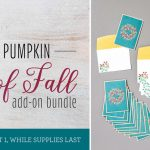"""Paper Pumpkin August """"Gift of Fall"""" Add on Bundle Available"""