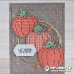 CARD: Hey Pumpkin Card from the new Harvest Hellos Bundle