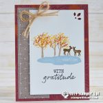 CARD: With Gratitude from the new Snow Front stamp set
