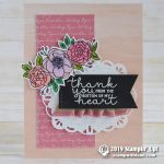 CARD: Thank You from my Heart Card from the Bloom & Grow stamp set