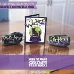 "BLOG HOP & VIDEO: How to make a ""Wicked Cool"" Crystal Ball Halloween Card"