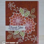 CARD: Thank you so very much from Flourishing Phrases