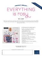 Everything is Rosy Flyer
