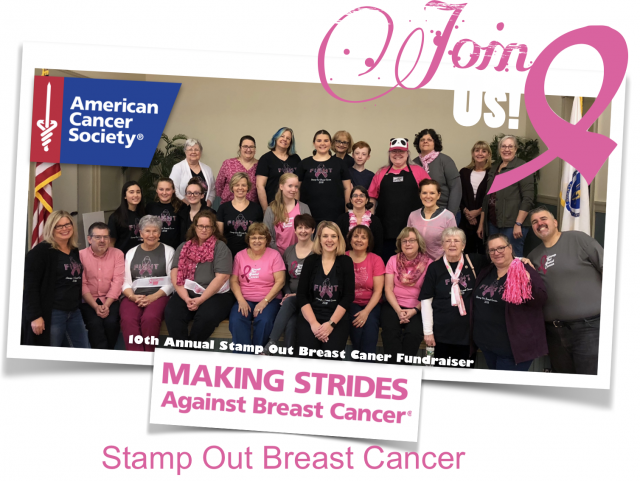 Help Us Stamp Out Breast Cancer