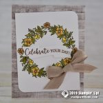 CARD: Celebrate Your Day card from the Seasonal Wreaths Stamp Set