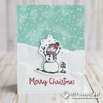 CARD: Merry Christmas Snowman from the Snowman Season