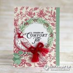 CARD: Tidings of Comfort and Joy Cardinal Christmas Card
