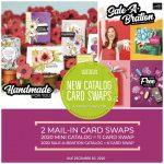 SWAP: Stampin Up Mini & SAB Catalog Pre-Order Card Swap – Due December 30