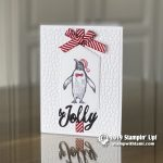 CARD:  Be Jolly from the Retiring Playful Penguins Stamp Set