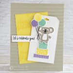 CARD: Let's celebrate you card from the Bonanza Buddies