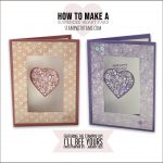 BLOG HOP & VIDEO: How to make a suspended heart card