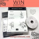 Win the Stampin' Up Botanical Prints Bundle Giveaway