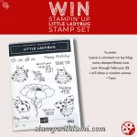 Win the Stampin' Up Little Ladybug Stamp Set Giveaway