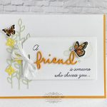 CARD: Friend Butterfly Card from the Beauty Abounds Stamp Set