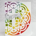 "CARD: God is Love ""Wow"" card from the Hold on to Hope bundle"