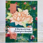 CARD: A thousand hugs from the Lovely Lily Pad Stamps and Paper
