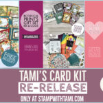 Tami's Special Edition Card Kits – Stamp Therapy during Quarantine – ends March 20