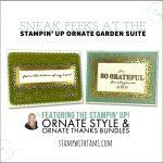 VIDEO: *Spoiler Alert* Sneak Peeks at the Ornate Garden Pre-Release Suite
