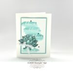 CARD: Card Making Ideas with the Lovely Lily Pad & Happy Birthday to You Sale-a-bration Stamp Sets