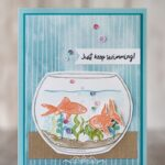 CARD: Just keep swimming from the Make a Splash Stamp Set
