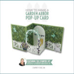 VIDEO: How to make a Garden Arbor Pop Up Card