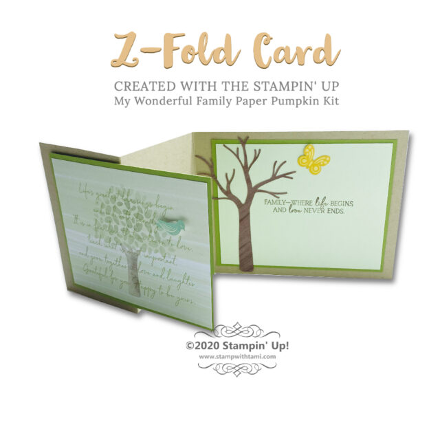 Rooted in Nature Cards With Z Fold