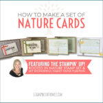 VIDEO: How to a set of Rooted in Nature Cards also featuring My Wonderful Family Paper Pumpkin