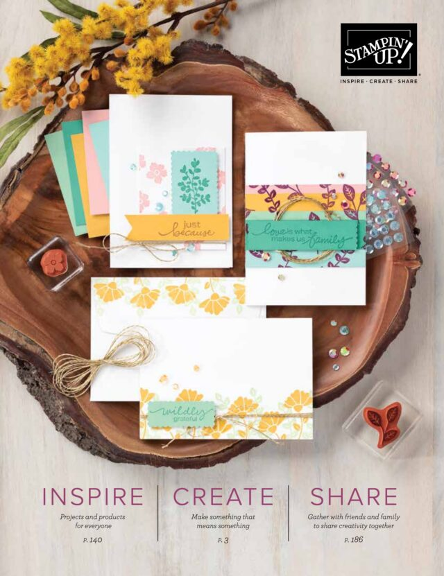 New 2021 Stampin Up Annual Catalog