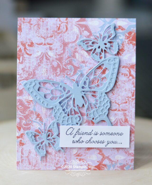 Butterfly Beauty Friend Card