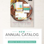 The New 20120-21 Stampin Up Annual Catalog is here