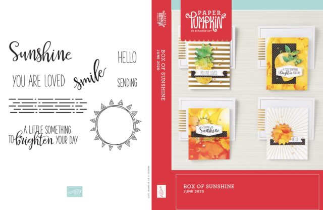 A Box Of Sunshine Card Kit Bundle